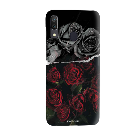 Dark Roses Cover Case for Samsung Galaxy A20