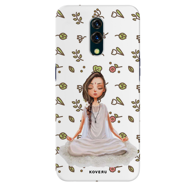 Yoga Girl Cover Case for Oppo K3