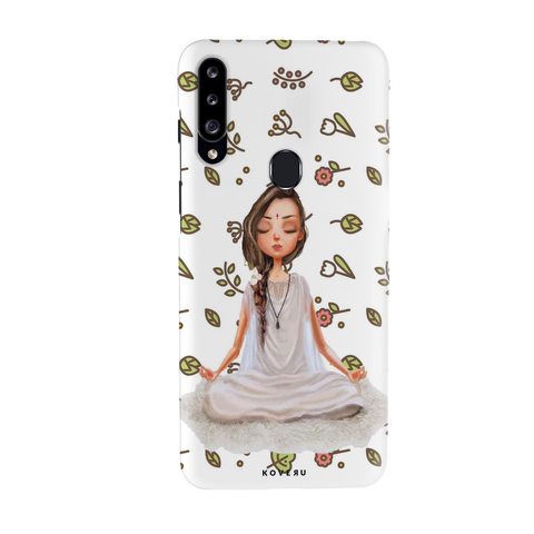 Yoga Girl Cover Case for Samsung Galaxy A20S