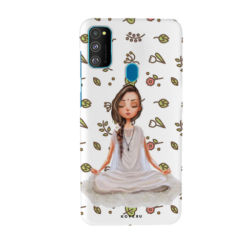 Yoga Girl Cover Case for Samsung Galaxy M30S