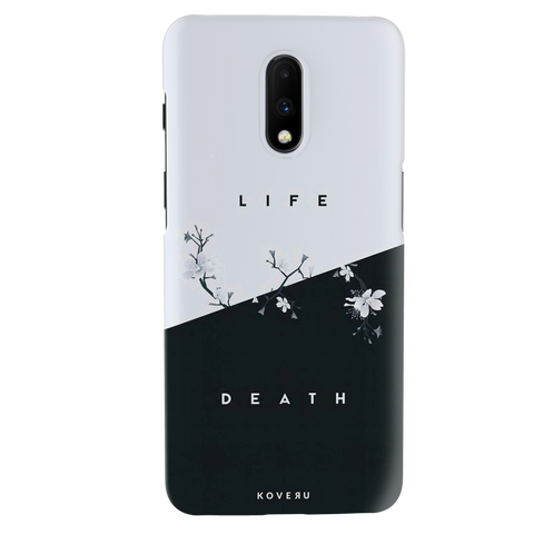 Life / Death Cover Case for OnePlus 7