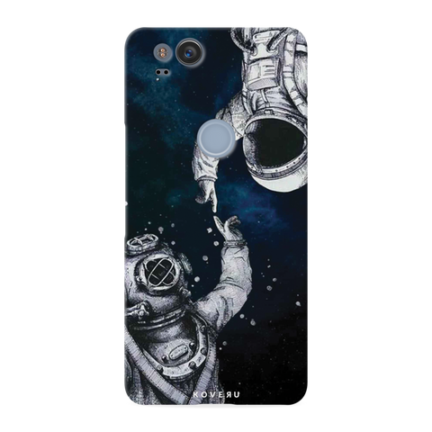 Astronaut Cover Case for Google Pixel 2