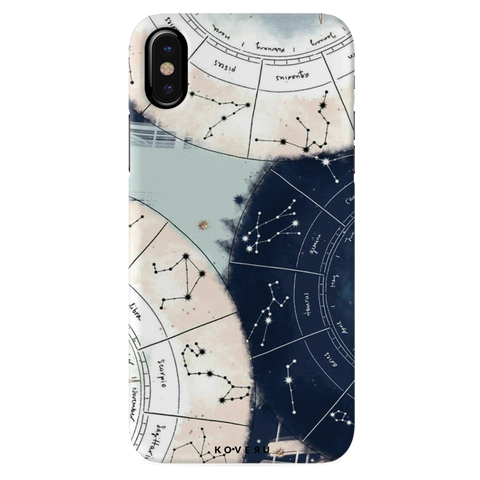 Aesthetic Astrology Cover Case for iPhone X
