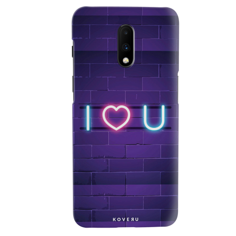 Neon Light Cover Case for OnePlus 7