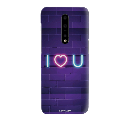 Neon Light Cover Case for OnePlus 7 Pro