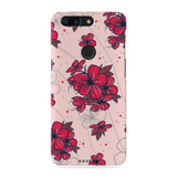 Touch-me-not Flowers Cover Case for OnePlus 5T