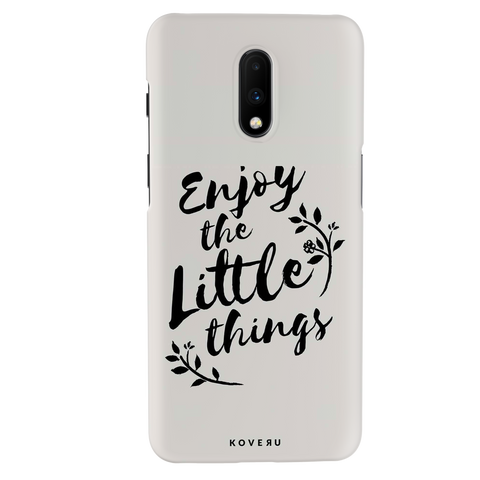 Enjoy the Little Things Cover Case for OnePlus 7