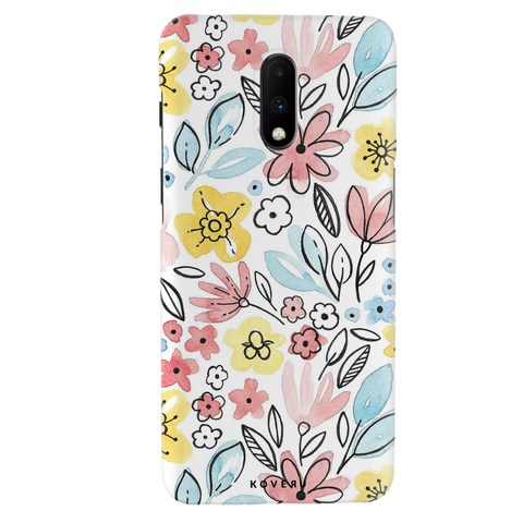 Tulip Flowers Cover Case for OnePlus 7