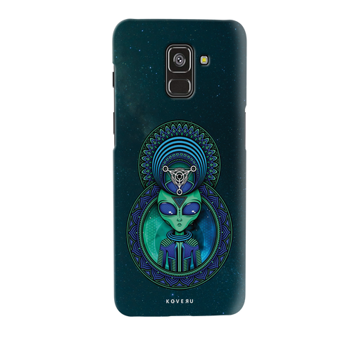Alien Cover Case for Galaxy A8 Plus