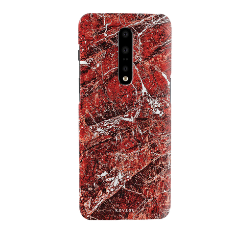 Glazed Marble Cover Case for OnePlus 7 Pro
