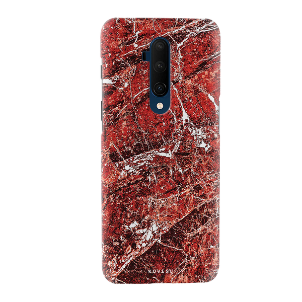 Glazed Marble Cover Case for OnePlus 7T Pro