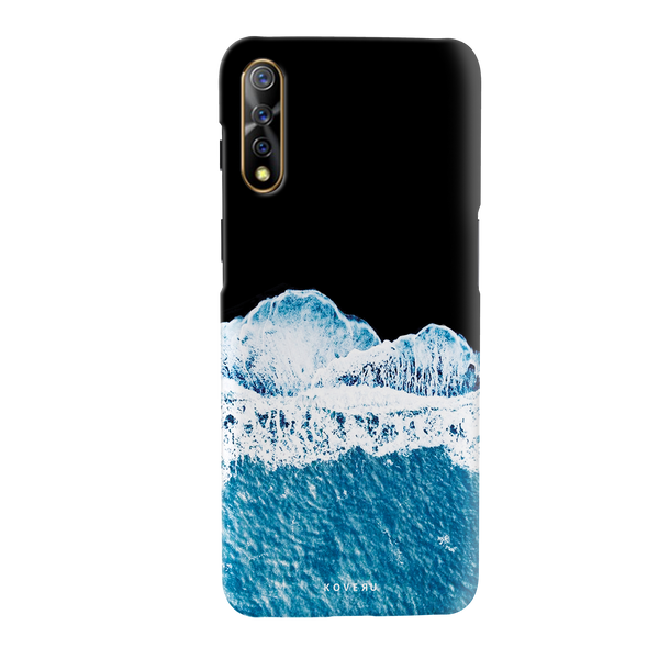 Sea Waves Cover Case for Vivo S1