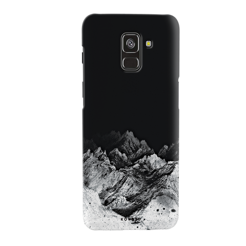 Night Mountains Cover Case for Galaxy A8 Plus