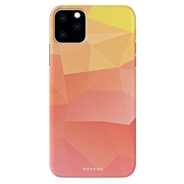 Polygon Pattern Cover Case for iPhone 11 Pro
