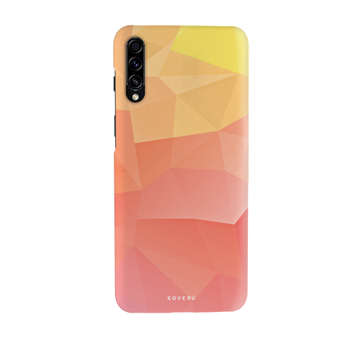 Polygon Pattern Cover Case for Samsung Galaxy A70S
