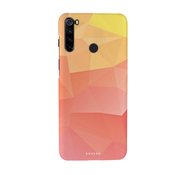 Polygon Pattern Cover Case for Redmi Note 8