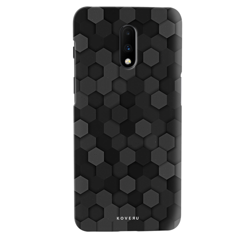 Hexagon Pattern Cover Case for OnePlus 7