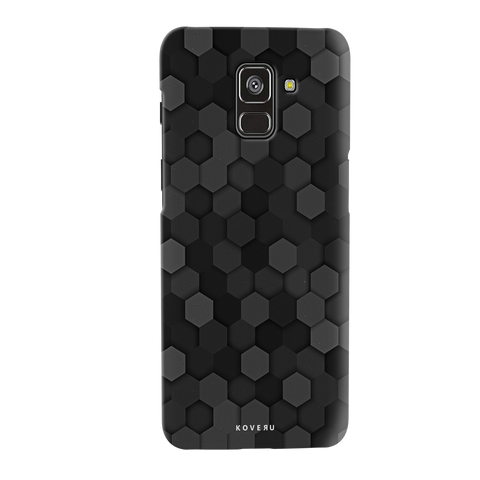 Hexagon Cover Case for Galaxy A8 Plus