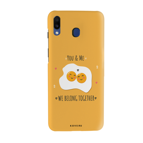 Belong Together Cover Case for Samsung Galaxy M20
