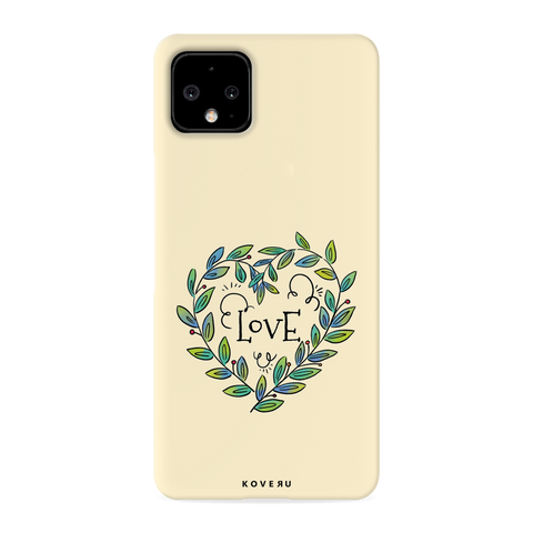 Petals Love Cover Case for Google Pixel 4