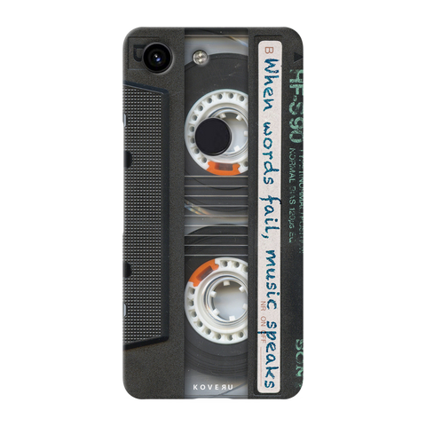 Sony Vintage Cassette Cover Case for Google Pixel 3A