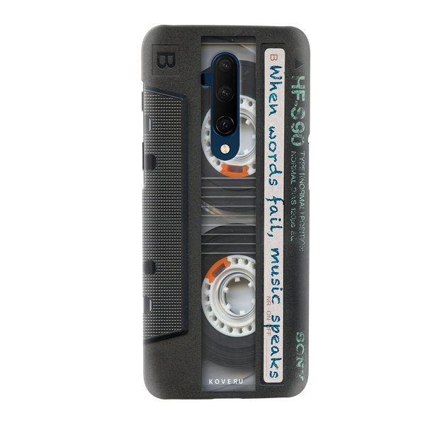 Sony Vintage Cassette Cover Case for OnePlus 7T Pro