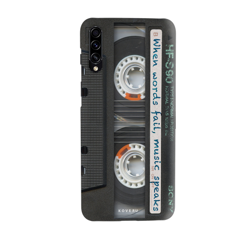 Sony Vintage Cassette Cover Case for Samsung Galaxy A30S