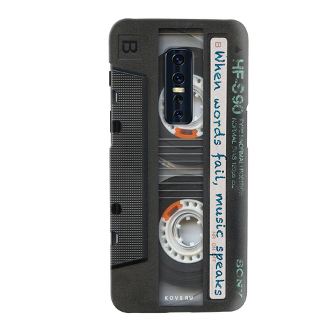 Sony Vintage Cassette Cover Case for Vivo V17 Pro