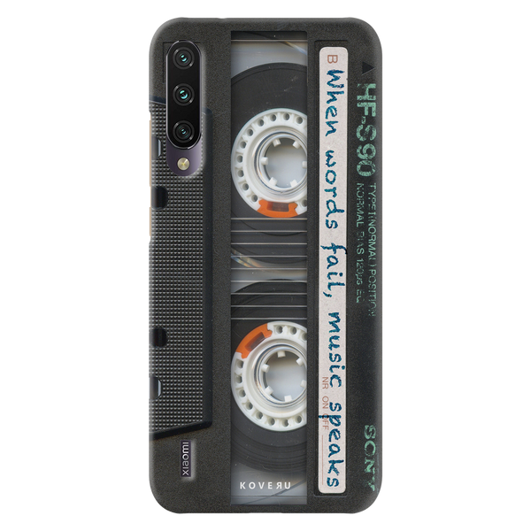 Sony Vintage Cassette Cover Case for Redmi A3