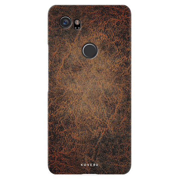 Leather Print Cover Case for Google Pixel 2XL
