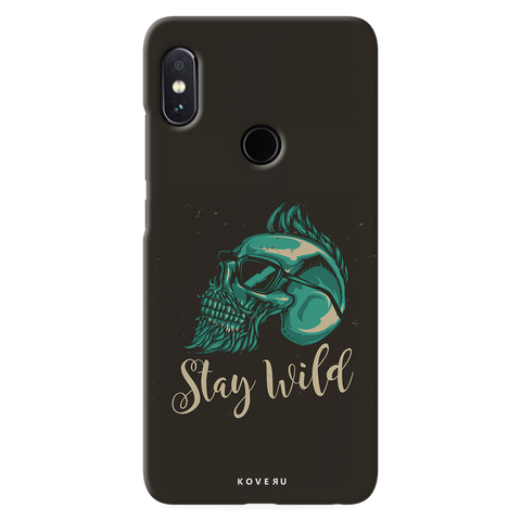 Stay Wild Cover Case for Redmi Note 5 Pro