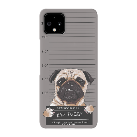 Bad Pug Cover Case for Google Pixel 4