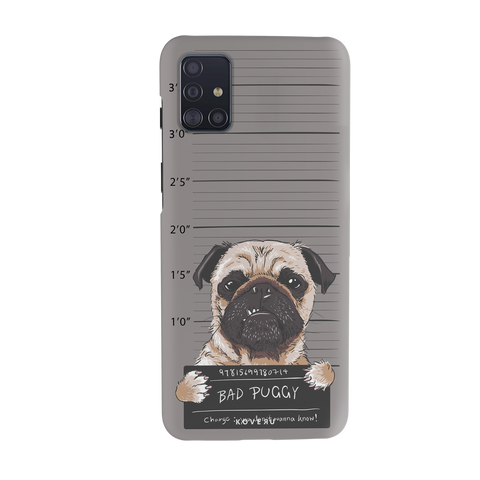 Bad Pug Cover Case for Samsung Galaxy A51