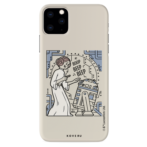 R2 And Leia Cover Case For iPhone 11 Pro Max