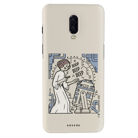 R2 And Leia Cover Case For OnePlus 6T