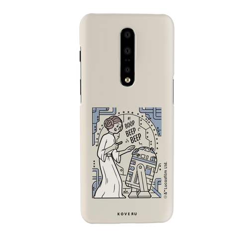 R2 And Leia Cover Case For OnePlus 7 Pro