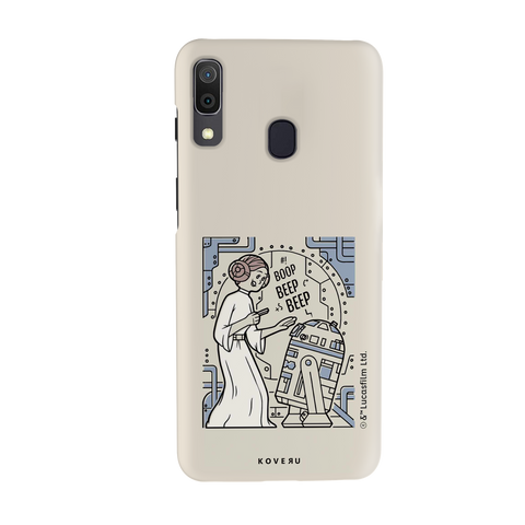 R2 And Leia Cover Case For Samsung Galaxy A20