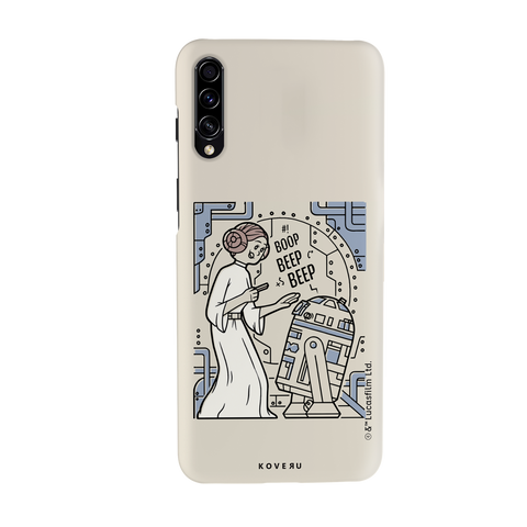R2 And Leia Cover Case For Samsung Galaxy A50S