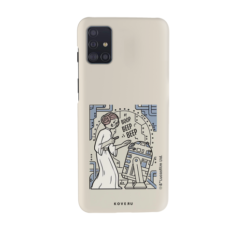 R2 And Leia Cover Case For Samsung Galaxy A51