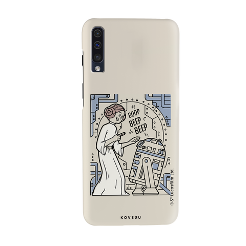 R2 And Leia Cover Case For Samsung Galaxy A70