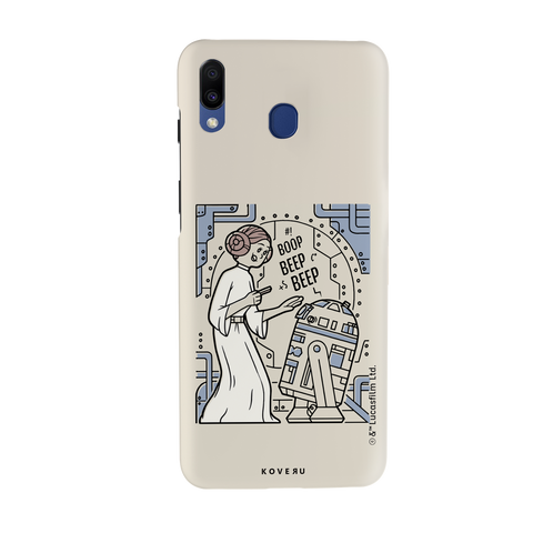 R2 And Leia Cover Case For Samsung Galaxy M20