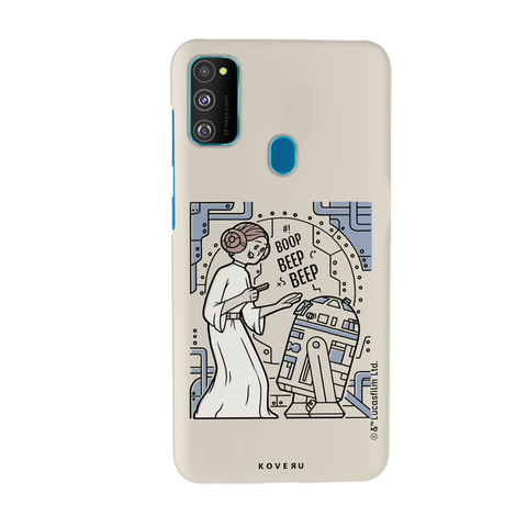 R2 And Leia Cover Case For Samsung Galaxy M30S