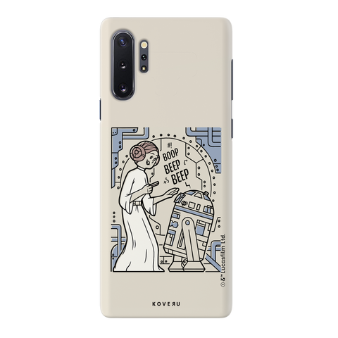R2 And Leia Cover Case For Samsung Galaxy Note 10  Plus