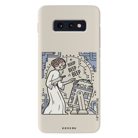 R2 And Leia Cover Case For Samsung Galaxy S10E