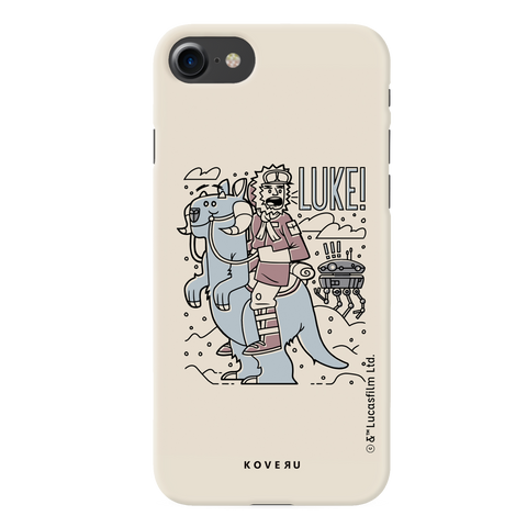 Luke On A Tauntaun Cover Case For iPhone 7/8