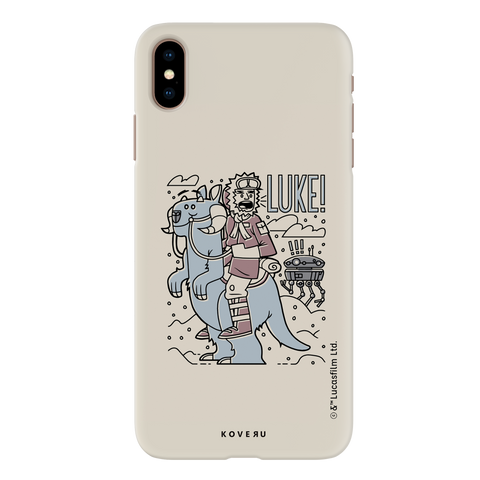 Luke On A Tauntaun Cover Case For iPhone XS Max