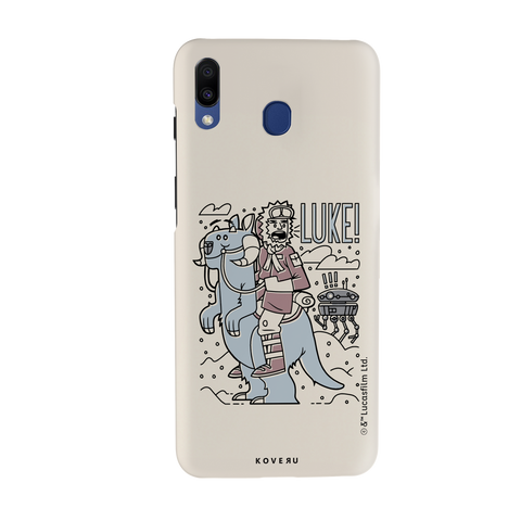 Luke On A Tauntaun Cover Case For Samsung Galaxy M20