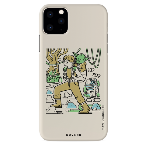 Luke And Yoda Cover Case For iPhone 11 Pro Max