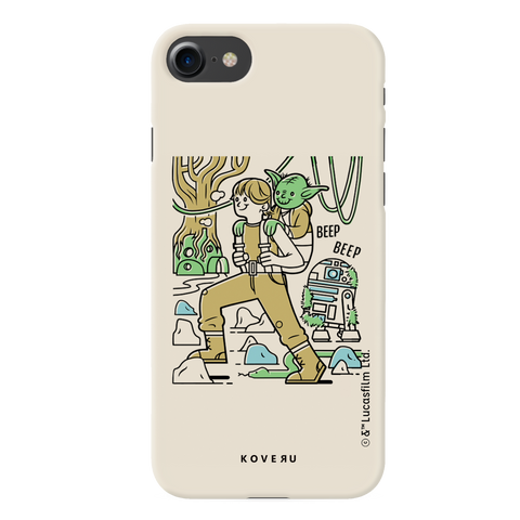 Luke And Yoda Cover Case For iPhone 7/8