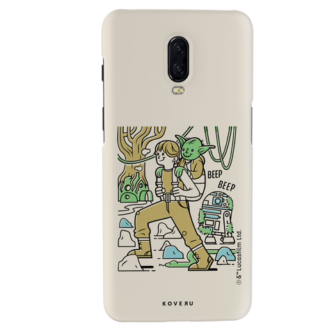 Luke And Yoda Cover Case For OnePlus 6T